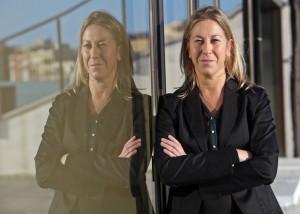 Barcelona. Entrevista amb la consellera de Benestar Social i Família, Neus Munté, al departament a Palau de Mar